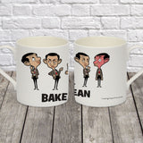 Baked Bean Bone China Mug (Lifestyle)