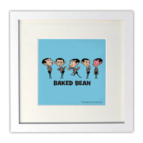 Baked Bean Mounted Art Print
