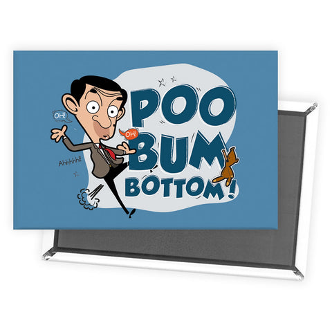 Poo Bum Bottom Magnet