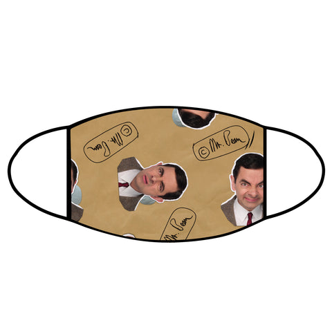 Mr Bean Face Mask - Signature