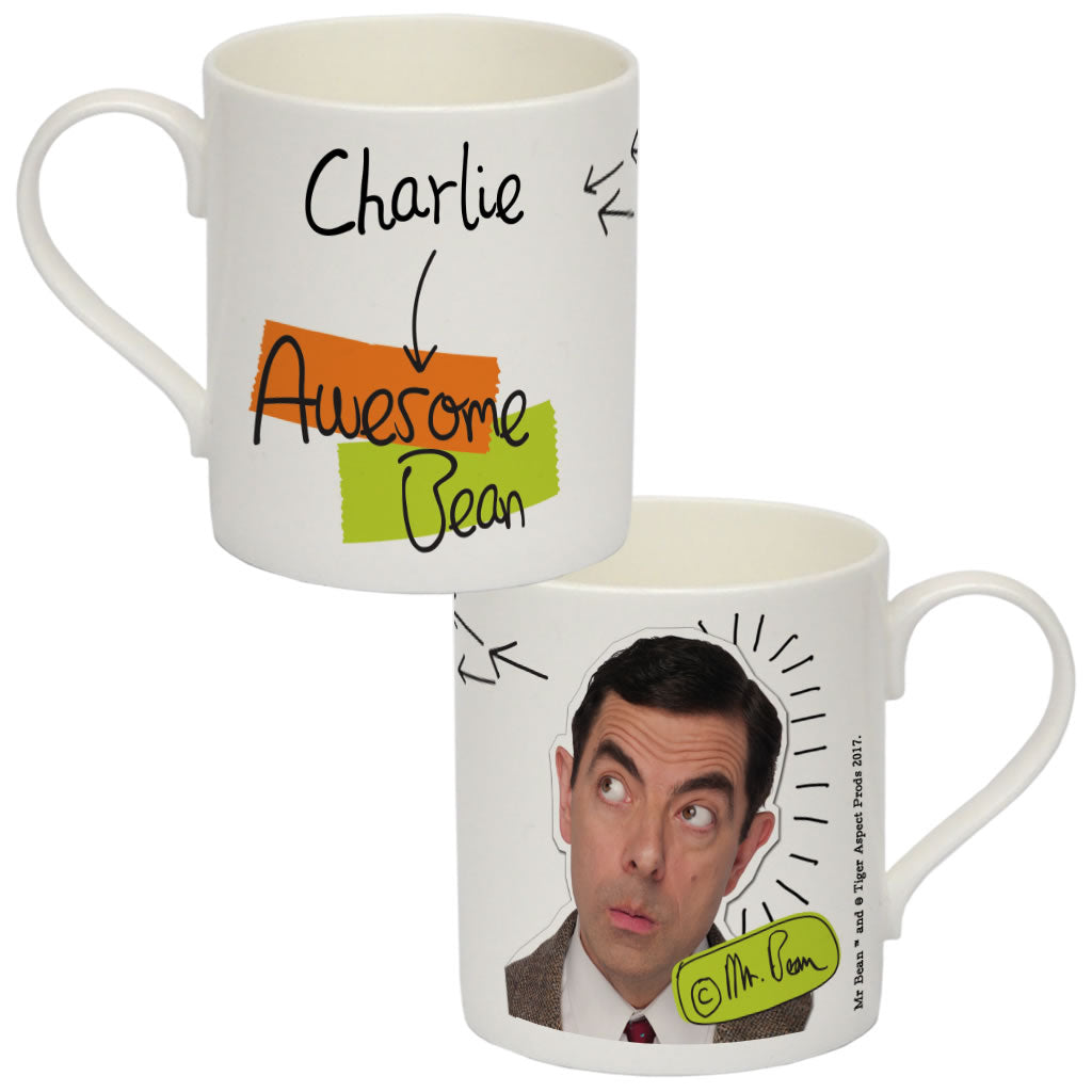 Awesome Bean Bone China Mug