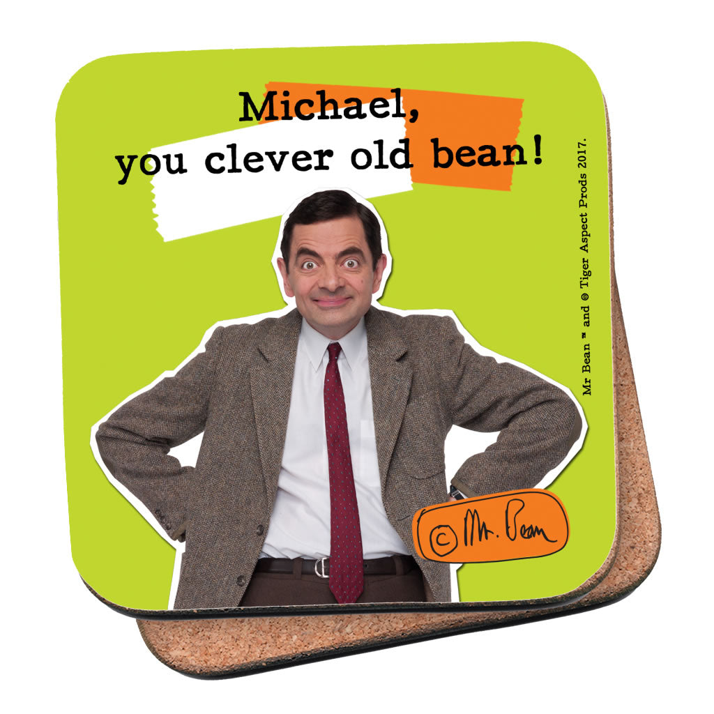 Clever Old Bean Coaster