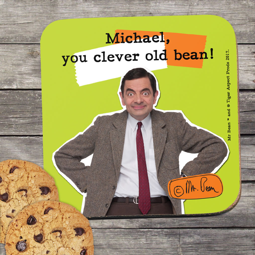 Clever Old Bean Coaster (Lifestyle)