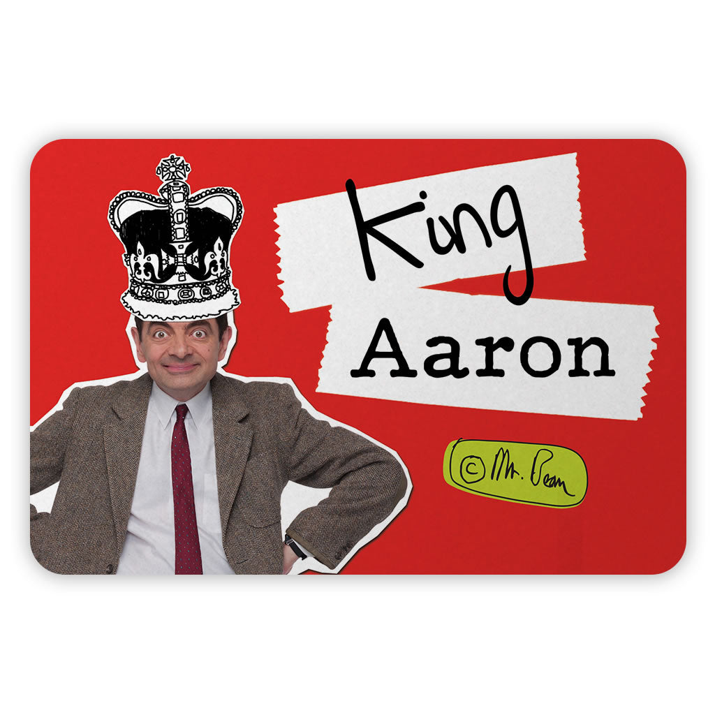 King Metal Sign