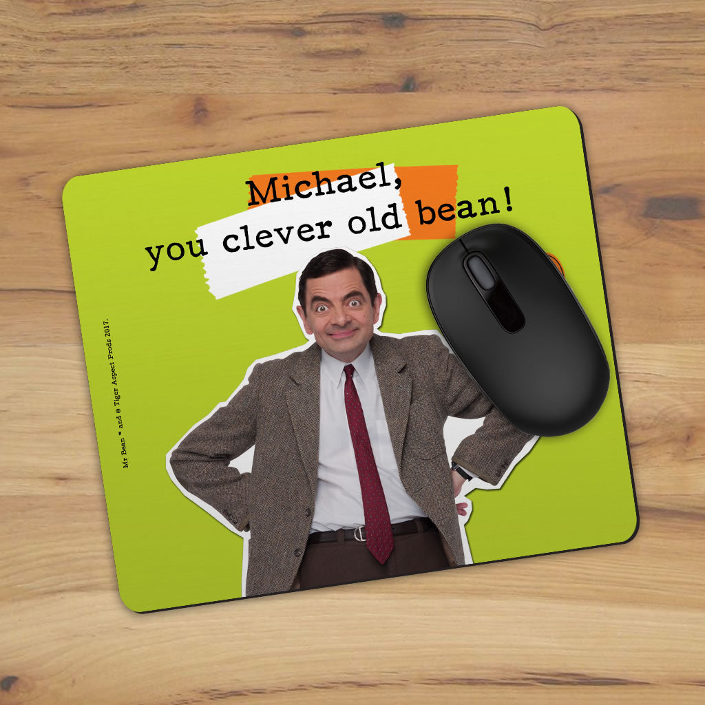 Clever Old Bean Mouse mat (Lifestyle)