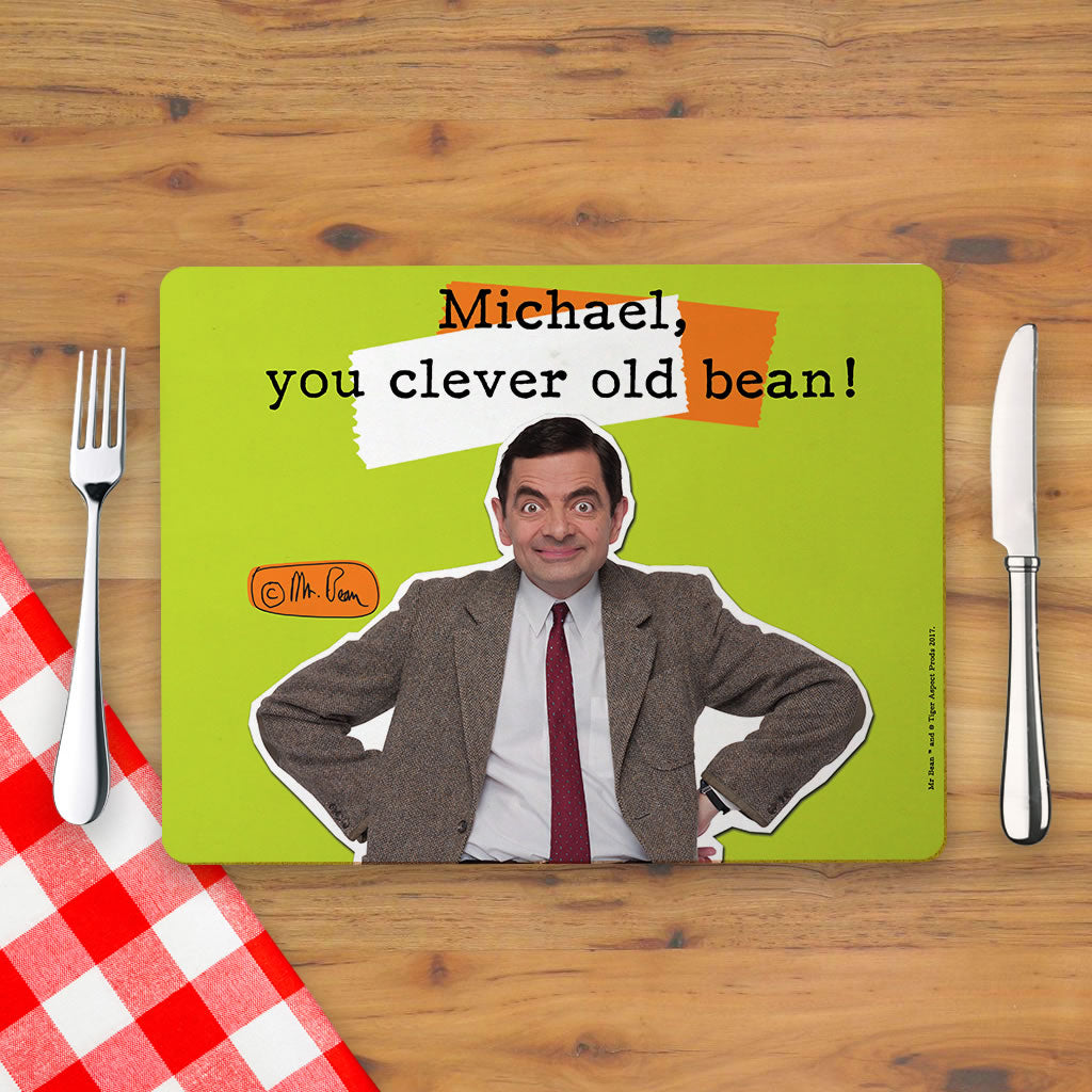 Clever Old Bean Placemat (Lifestyle)