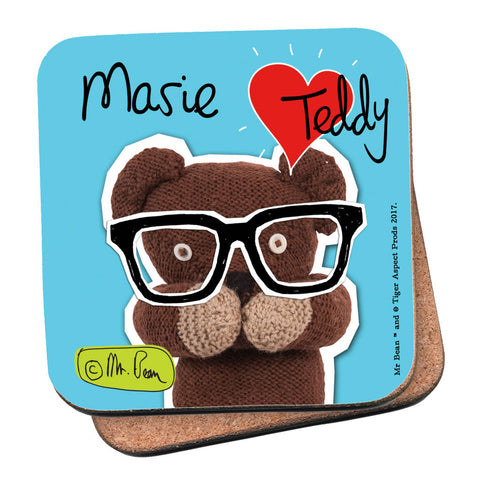 Heart Teddy Coaster