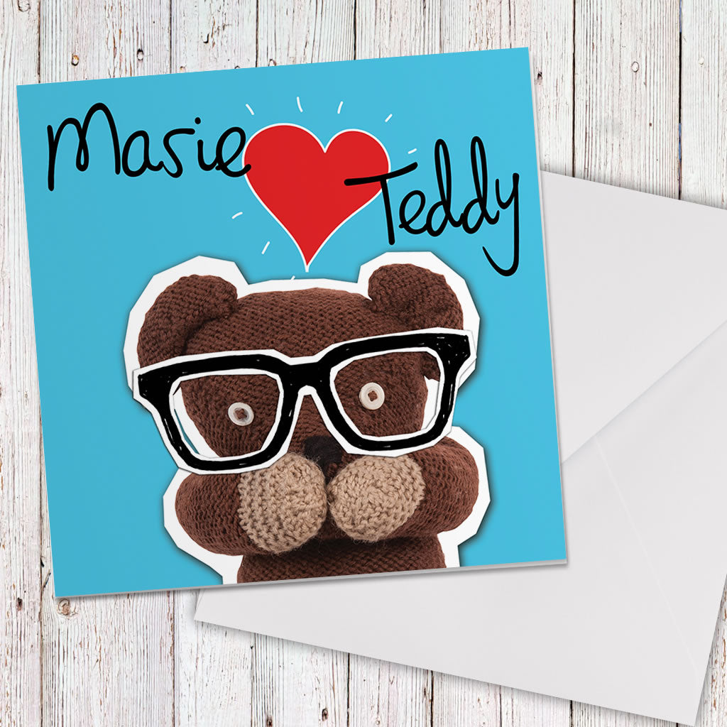 Heart Teddy Greeting card (Lifestyle)