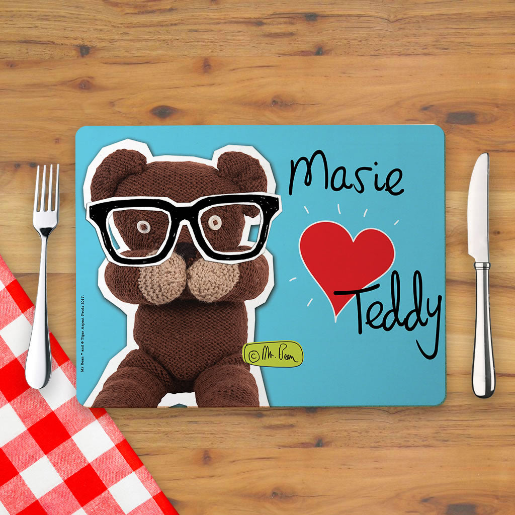 Heart Teddy Placemat (Lifestyle)
