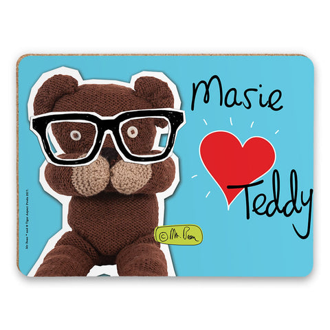 Heart Teddy Placemat