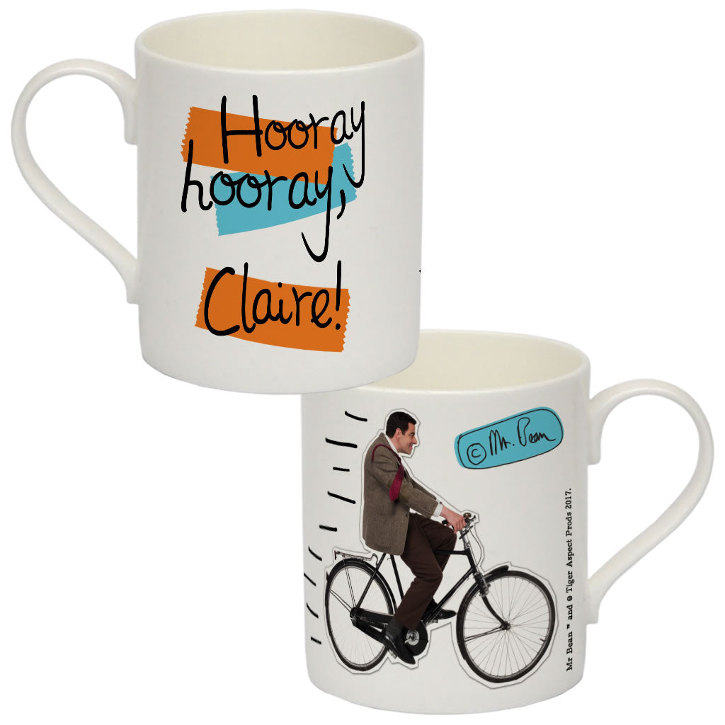 A Cool Bean Bone China Mug