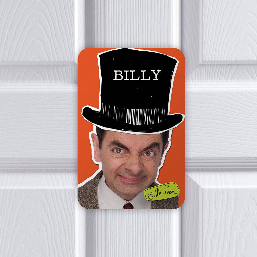Mr Bean Tophat Metal sign (Lifestyle)