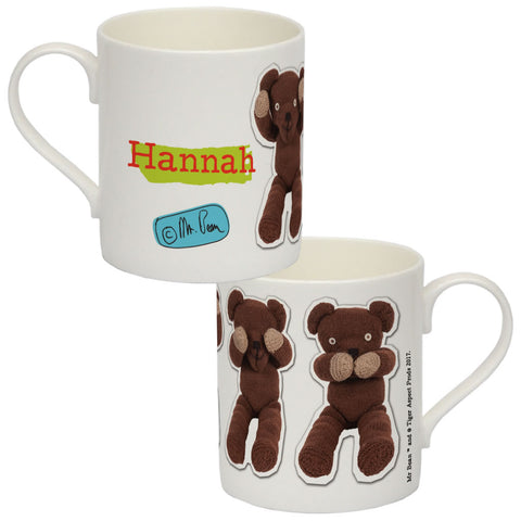 Teddy Bone China Mug
