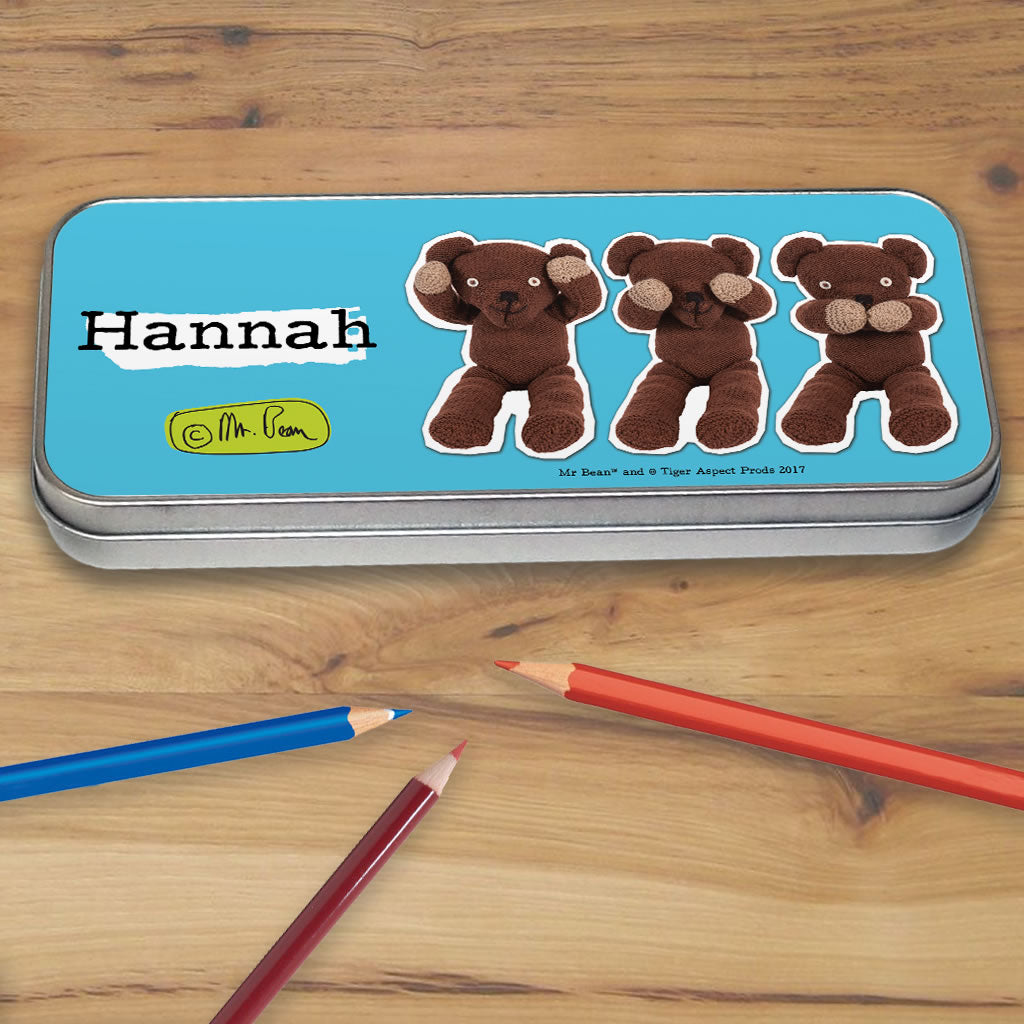 Teddy Pencil tin (Lifestyle)