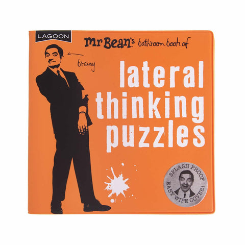 Mr. Bean Bathroom Book - Lateral Puzzles