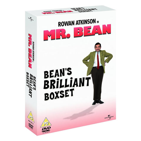 Mr. Bean - Series 1 - Vol 1-4 DVDs