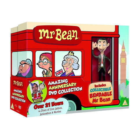 Mr. Bean - 25th Anniversary Box Set (Gwp)(14 Disc) DVDs