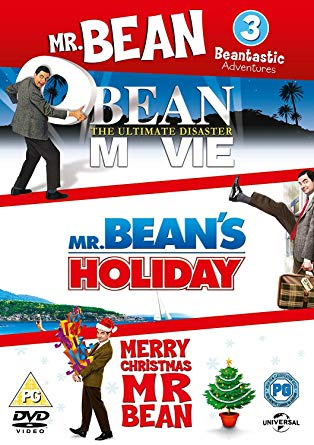 Triple DVD Set - Bean: The Ultimate Disaster Movie, Mr Bean's Holiday, Merry Christmas Mr Bean