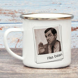 Has Bean Enamel Mug (Lifestyle)