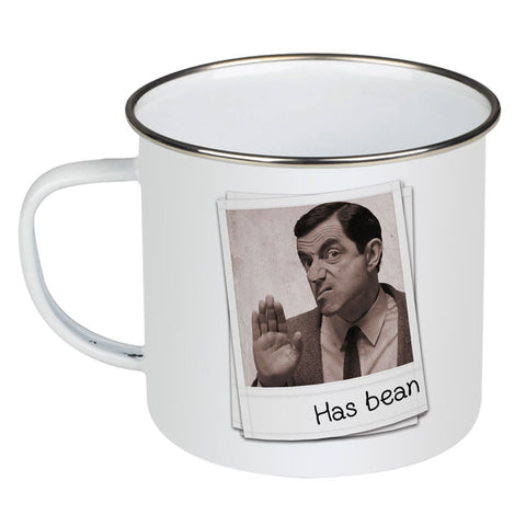 Has Bean Enamel Mug