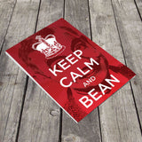 Keep Calm and Bean A5 Notepad (Lifestyle)
