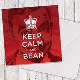 Keep Calm and Bean Greeting card (Lifestyle)