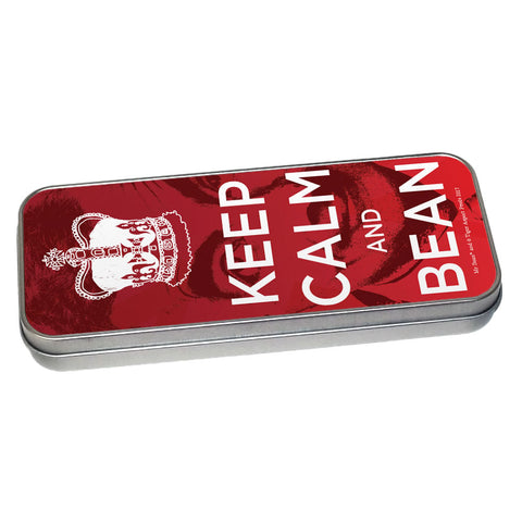 Keep Calm and Bean Pencil tin