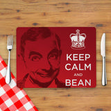 Keep Calm and Bean Placemat (Lifestyle)