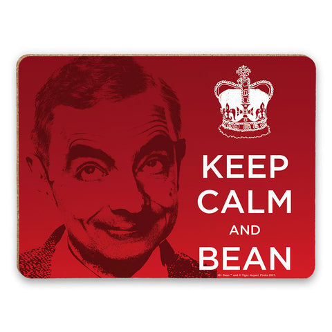 Keep Calm and Bean Placemat