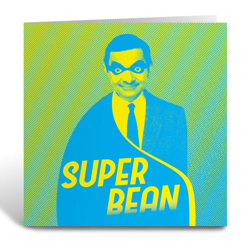 Super Bean Greeting Card