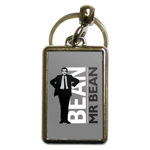 Bean Metal Keyring