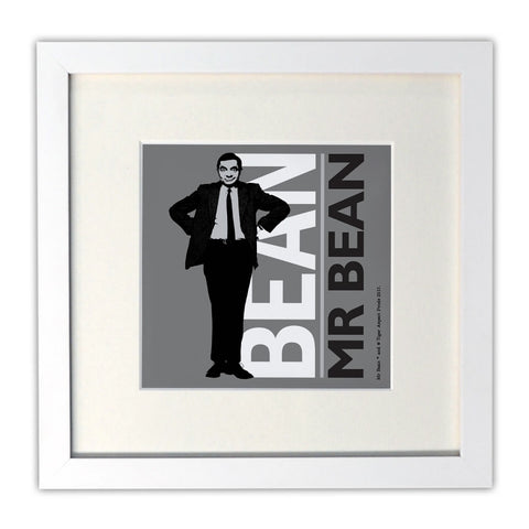 Bean Mounted Art Print