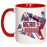I've Bean to London Coloured Insert Mug