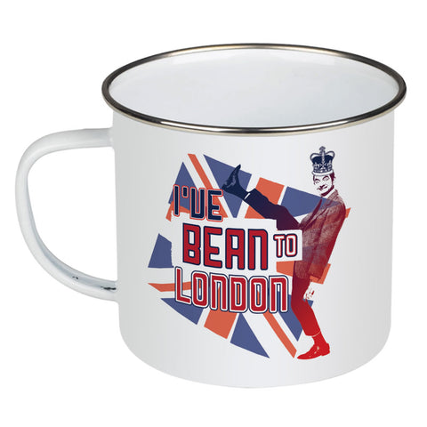I've Bean to London Enamel Mug