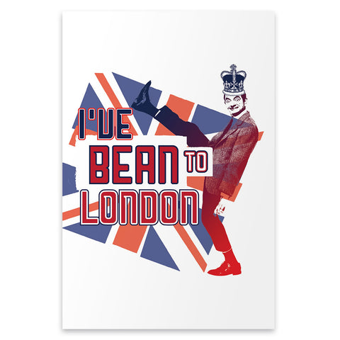 I've Bean to London Postcard pack