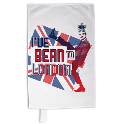 I've Bean to London Tea Towel