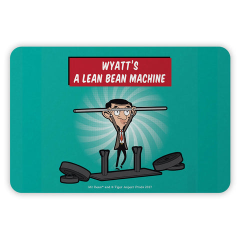 A Lean Bean Machine Metal Sign