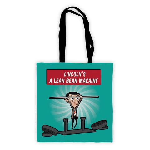 A Lean Bean Machine Tote Bag