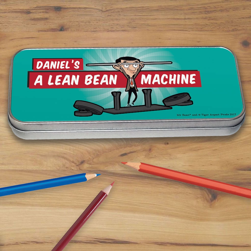 A Lean Bean Machine Pencil tin (Lifestyle)