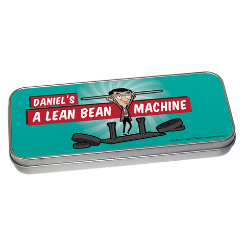 A Lean Bean Machine Pencil tin