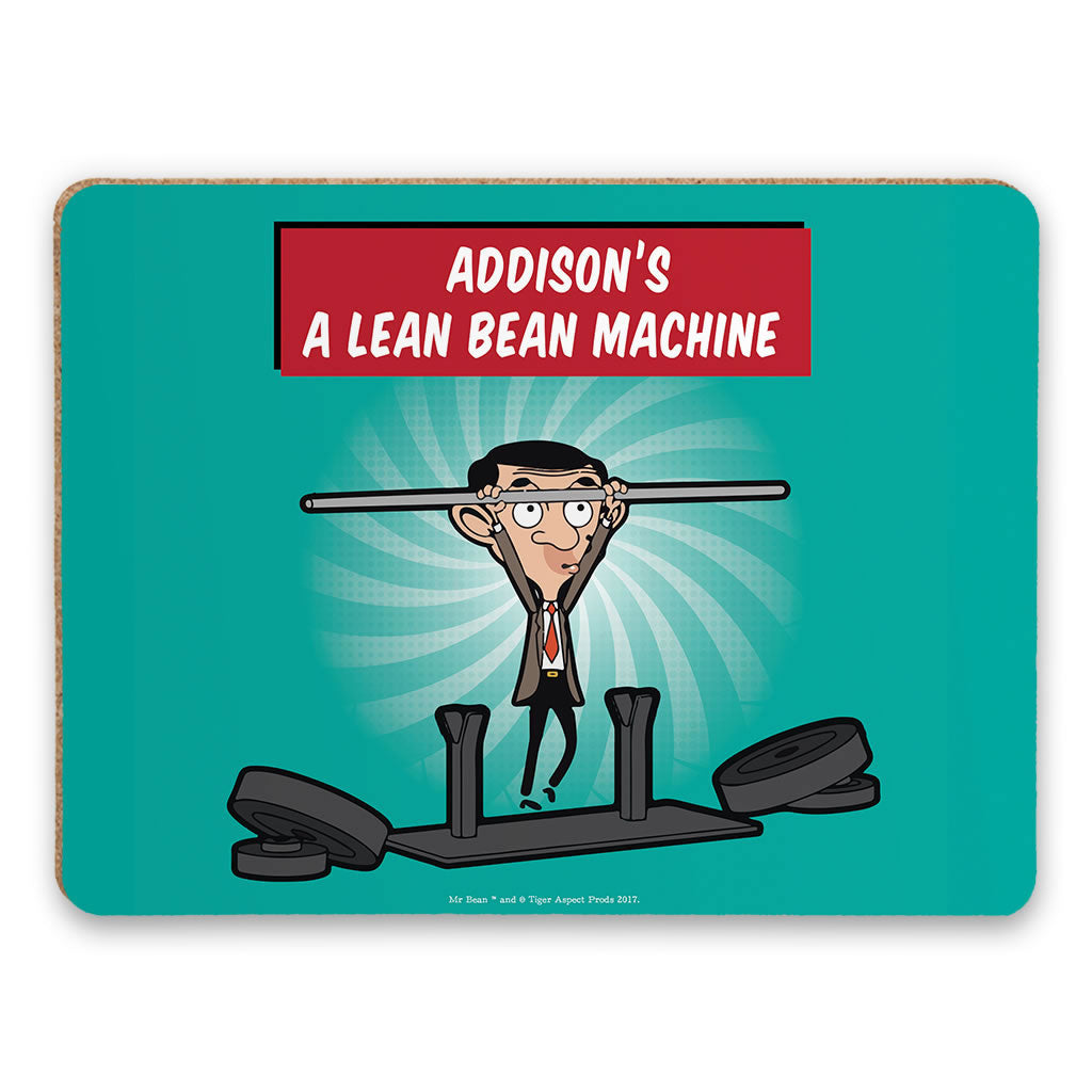 A Lean Bean Machine Placemat