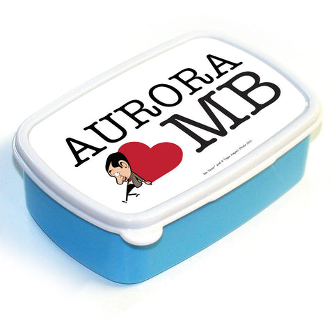 Heart Mr Bean 1 Lunchbox