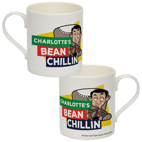 Bean Chillin Bone China Mug