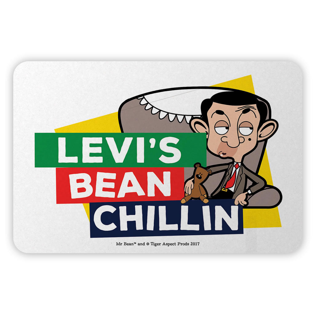 Bean Chillin Metal Sign