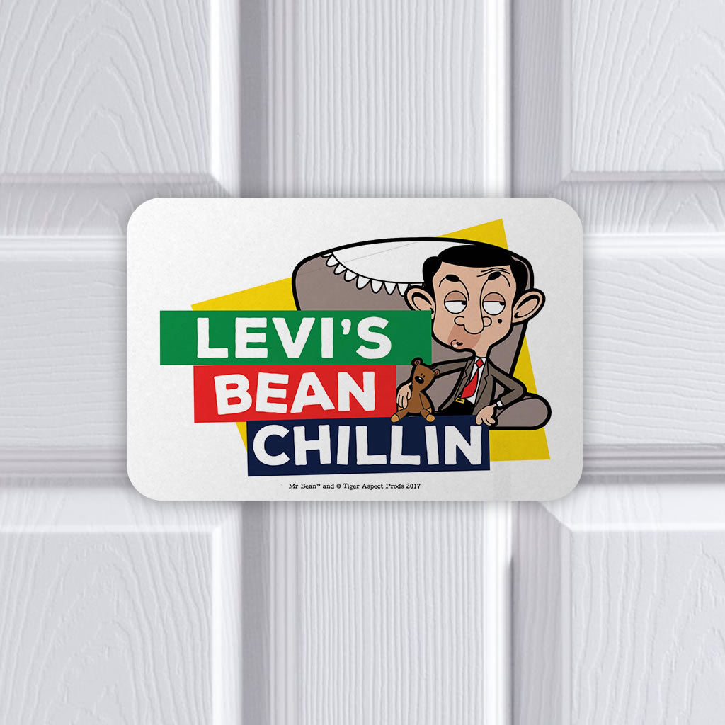 Bean Chillin Metal sign (Lifestyle)