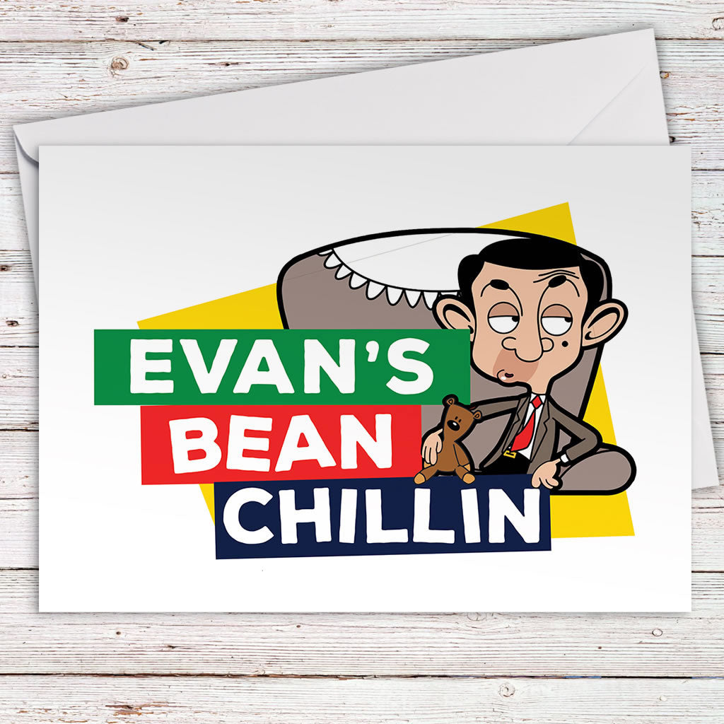 Bean Chillin Greeting card (Lifestyle)