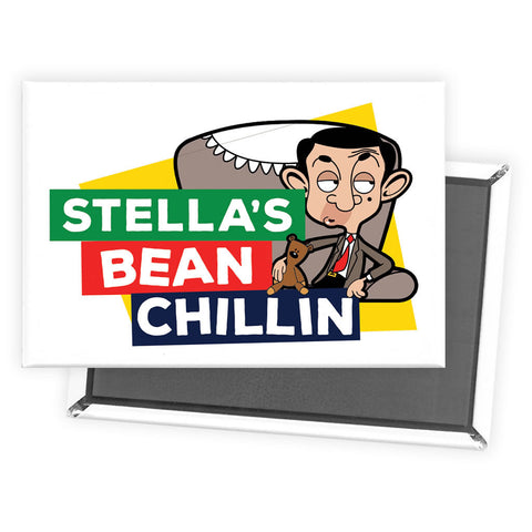 Bean Chillin Magnet