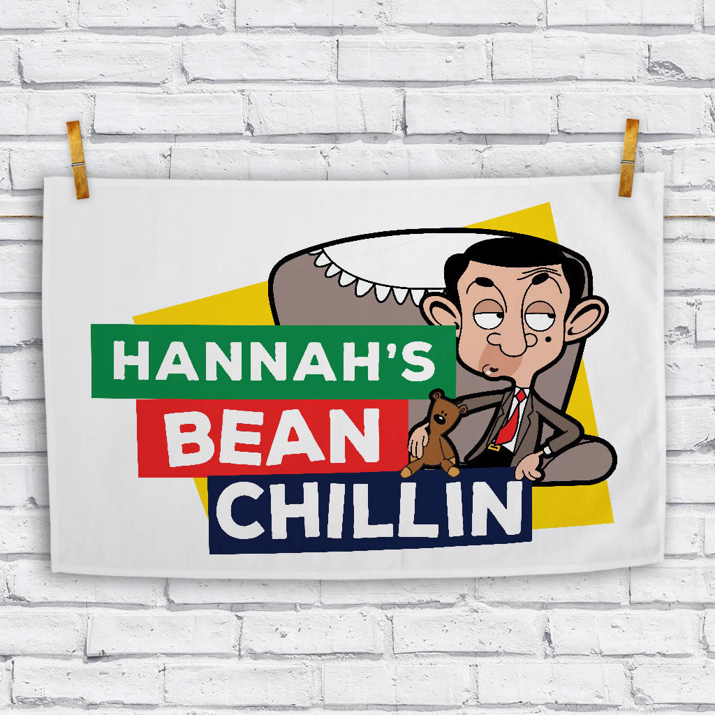 Bean Chillin Tea towel (Lifestyle)