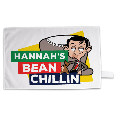 Bean Chillin Tea Towel
