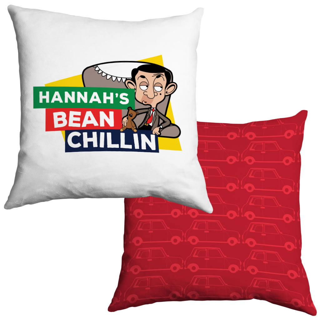 Heart Mr Bean 3 Cushion